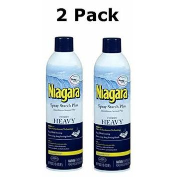 Niagara Heavy Spray Starch Plus Durafresh, Professional Finish, 20 Oz (2 Pack)