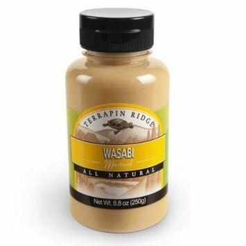 Terrapin Ridge Wasabi Mustard, 8.8-Ounce (Pack of 6)