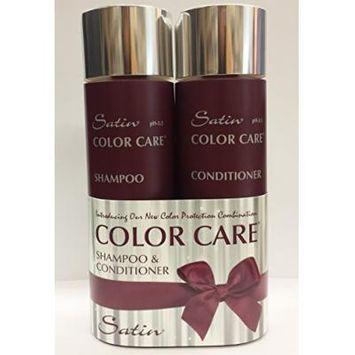 Satin Color Care Shampoo 8oz & Conditioner 8oz