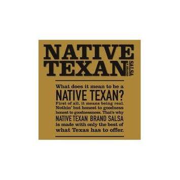 Native Texan Medium Salsa 16oz Jar (Pack of 4) (Fire Roasted)