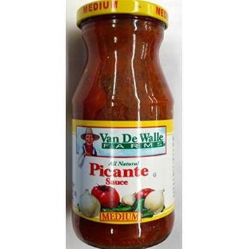 Van De Walle Farms All Natural Picante Sauce 16 Oz (Pack of 3) (Medium)