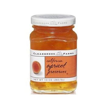 Clearbrook Farms Californian Apricot Preserves 10 Oz Twist Top Jar (Pack of 3)