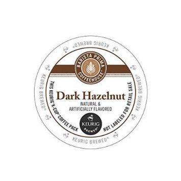 Barista Prima Dark Hazelnut Coffee Keurig K-Cups, 18 Count