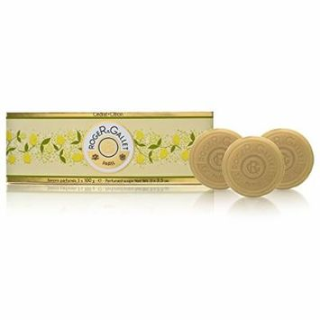 Cedrat ( Citron ) by Roger & Gallet 3 x 3.5 oz Perfumed Soaps