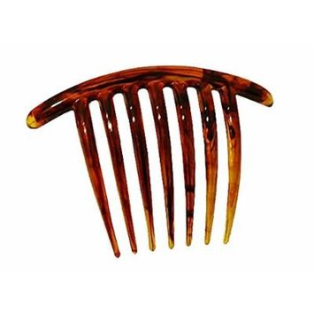 French Twist Comb (set of 5) in Tortoise Shell
