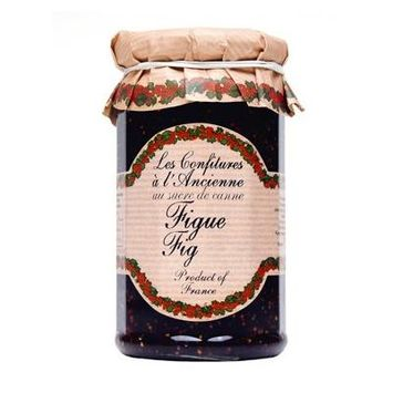 Fig Jam Andresy All natural French jam pure sugar cane 9 oz jar Confitures a l'Ancienne, One