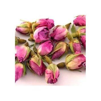 Natural Choice's Premium Dried Pink Rose Bud Loose Leaf Tea 4 Oz.