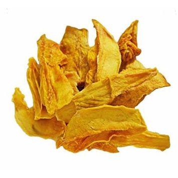 Indus Organic 100% Dried Mango Slices 1 Lb, Raw, Sulfite Free, No Added Sugar, Freshly Packed