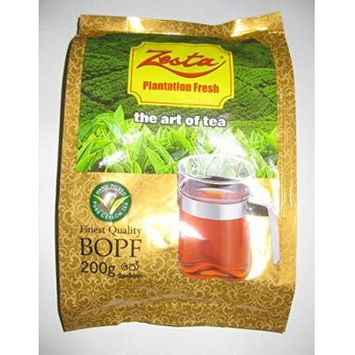Zesta Ceylon Black Tea BOPF Pure Ceylon Tea 200 Grams Pack Directly from Srilanka