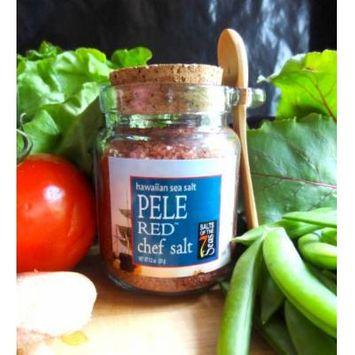 Pele Red, Red Hawaiian Gourmet sea salt by Salts of the 7 Seas