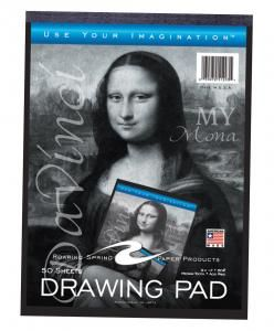 Roaring Spring Paper Products 51393 Drawing Tablet - 50 Sheets Per Book