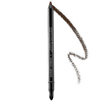 Giorgio Armani Waterproof Smooth Silk Eye Pencil Brown