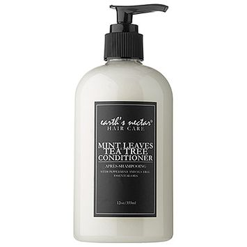 Earth's Nectar Mint Leaves & Tea Tree Conditioner