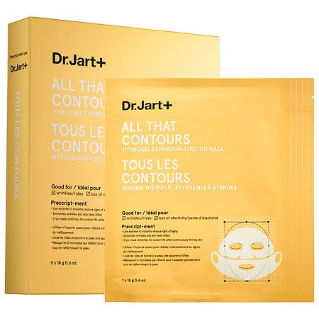 Dr. Jart+ All That Contours Hydrogel Expansion Stretch Mask