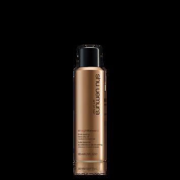 shu uemura straightforward blow dry oil spray