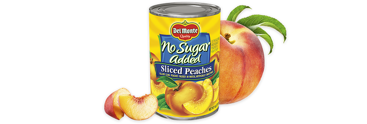 Del Monte® Sliced Yellow Cling Peaches - No Sugar Added