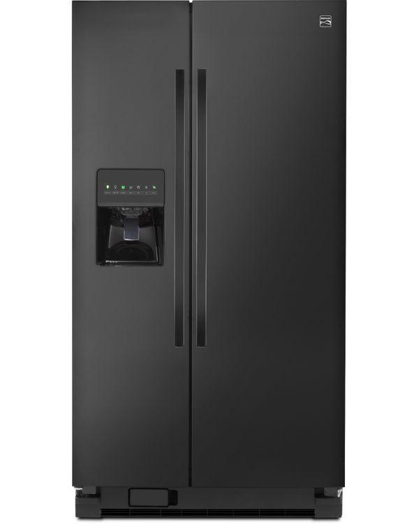 Kenmore 25 cu. ft. Side by Side Refrigerator w/ SmartSense Cooling Technology Black - 883049
