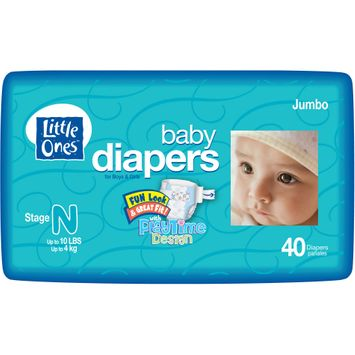 Little Ones Soft Pack Diapers Size 2, 12 18 lbs. 48 Count - ICD INDUSTRIES INC.