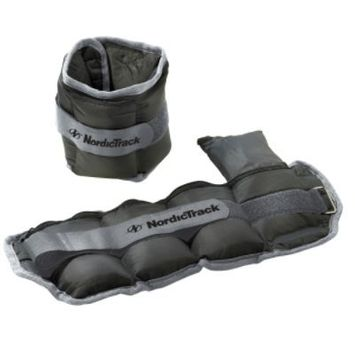Nordictrack 10 lb. Pair Adjustable Ankle Weights
