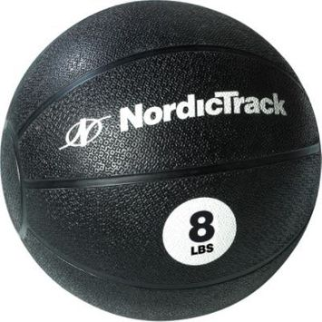 NordicTrack 8 lb. Medicine Ball - WEIDER HEALTH AND FITNESS