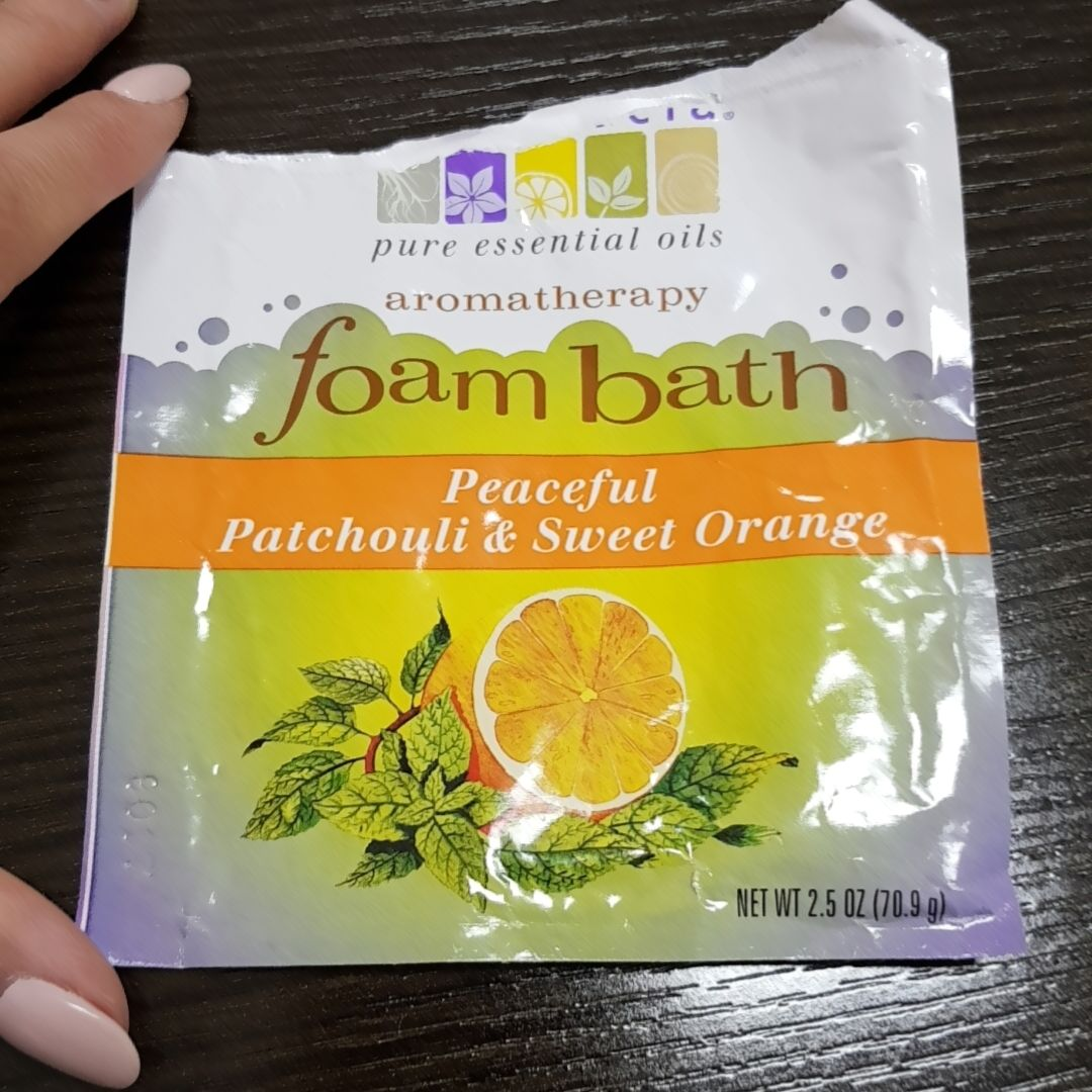 Aura Cacia 50885 Patchouli & Orange Foam Bath